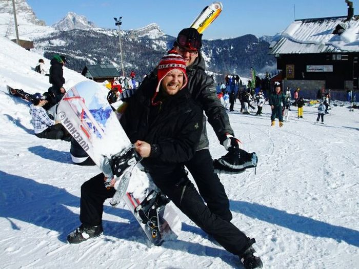 Collected Community Snowboarding Nature Mountains Trentino Alto Adige The snow with friends in the top of the world is the best