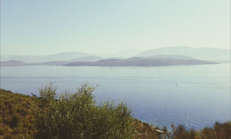 Enjoying The View Greece Hello World Check This Out