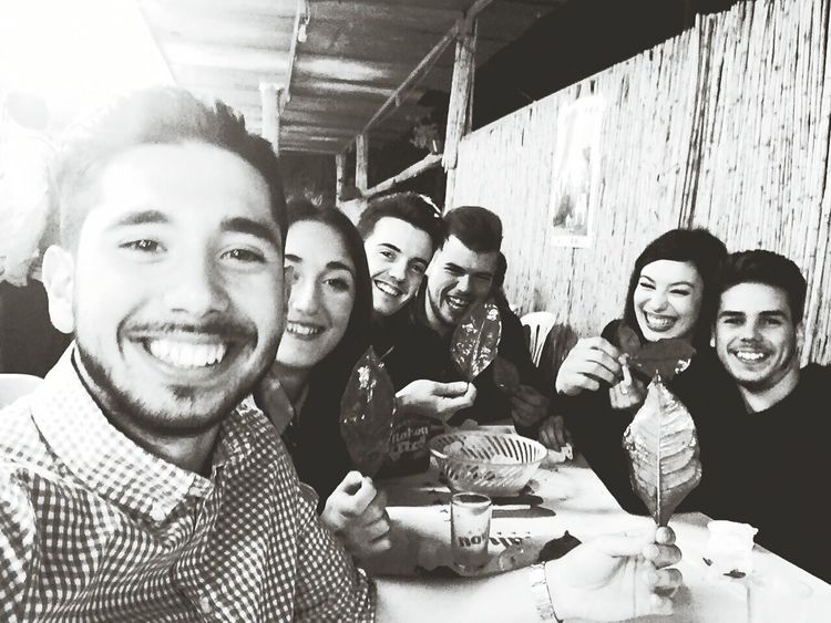 Happy People. blackandwhite All Smiles