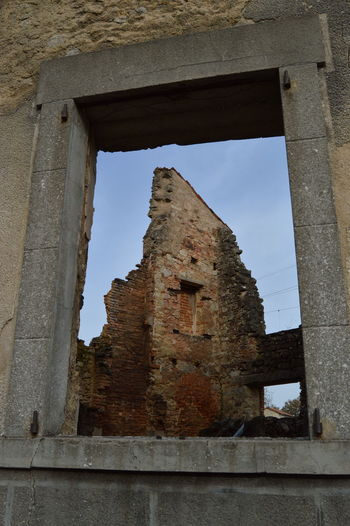 Abandoned Damaged Deterioration History Memories Ruined The Past War Weathered Window