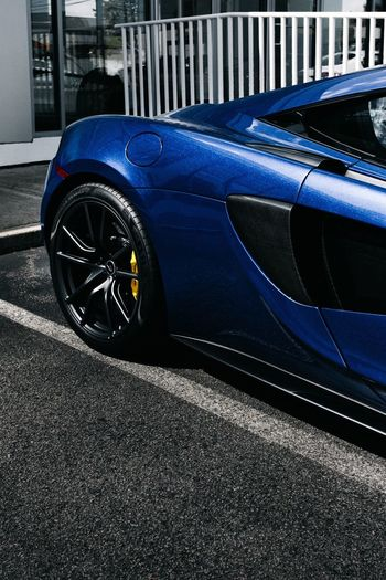 Car Transportation Mode Of Transport Luxury Blue Land Vehicle Day Outdoors No People Close-up Sportscar Racecar Automotive