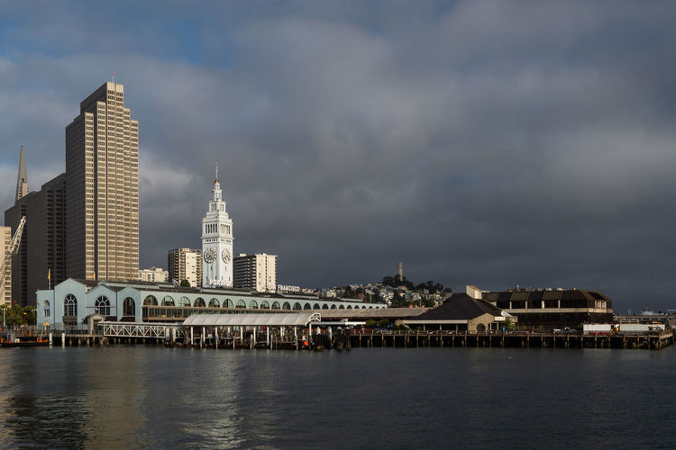 Ferry Building, San Francisco, California, United States Travel Destinations Outdoors No People Building Building Exterior Built Structure Waterfront Water View USA Urban United States United Trolley Travel Transportation Tower Tourism Street States Skyline Sky SF Scene San Francisco San People Market Landscape Landmark Harbor Francisco Ferry Famous Embarcadero Dock Clock Tower Clock Cityscape City Car California Built Bridge Blue Bay Architecture America