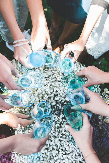 Group Of People Real People Human Body Part Group Day Adult Togetherness Women People Medium Group Of People Hand Human Hand Lifestyles High Angle View Body Part Friendship Nature Men Leisure Activity Low Section Outdoors Finger Care Girls Party
