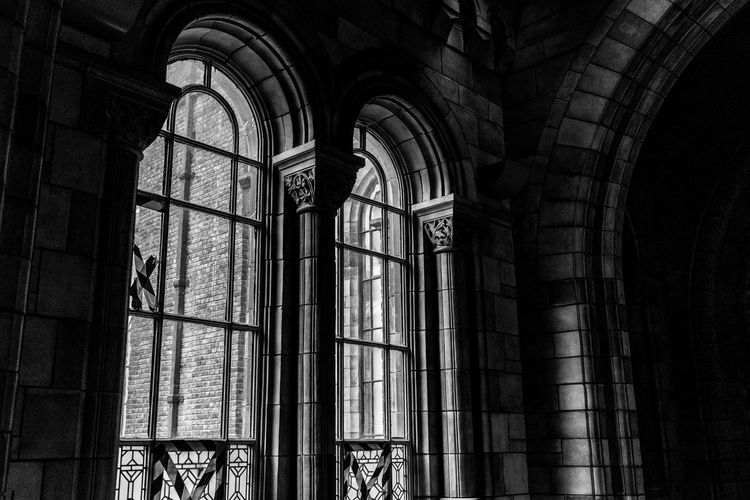 Arch Arched Architectural Column Architecture Belief Building Built Structure Day History Indoors  Low Angle View No People Old Place Of Worship Religion Spirituality The Past Window