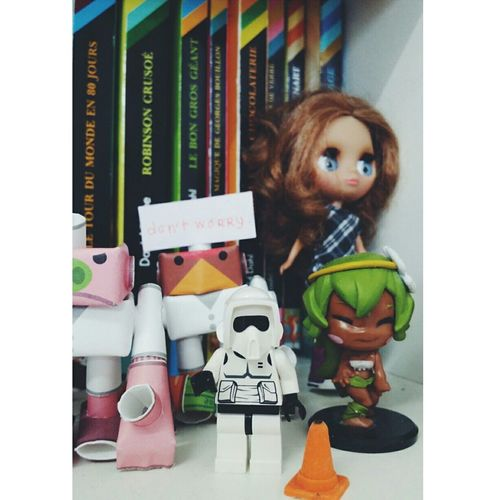 Starwarz mini lego with piperoid and more Starwars LEGO Figurines  Cute Piperoid Blythe Mini
