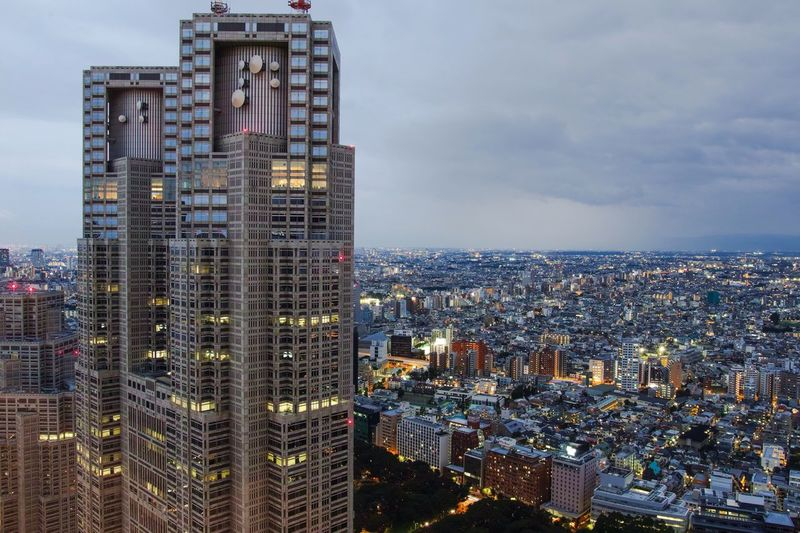 Tokyo Landscape Landscape_Collection City View  Cityscapes Nightphotography Night Lights City Lights Cloudporn Clouds And Sky Taking Photos Eye4photography  From My Point Of View