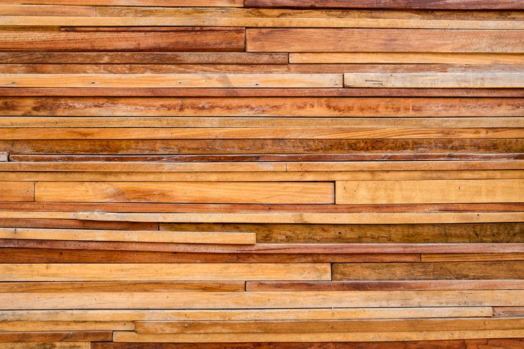 Full frame shot of wooden plank