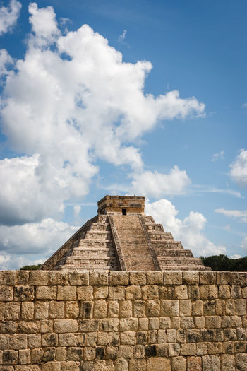 Archaeology Chichen Itza Mayan Ruins Mexico Pyramid Yúcatan Ancient Ancient Civilization Archaeological Sites Archaeology Architecture Building Exterior Built Structure Cloud - Sky Day El Castillo History Low Angle View Maya No People Old Ruin Outdoors Pyramid Sky The Past Tourism Travel Destinations