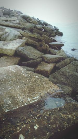 Just a picture I took at Jekyll Island Beachphotography Rocks And Water Jekyll Island First Eyeem Photo