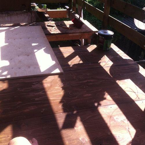 Balkon restauratie :D Fancywoorden