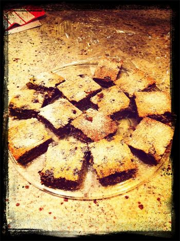 Poppy seed and sour cherry cake