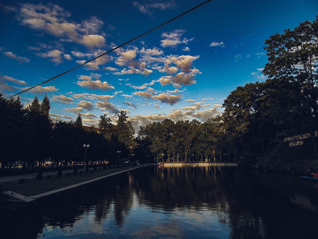 Beauty In Nature Cloud - Sky Day Growth Lake Nature No People Outdoors Reflection Scenics Sky Tranquil Scene Tranquility Tree Water