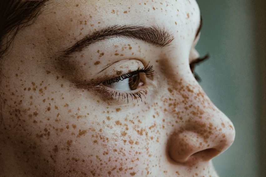 Close-up Portrait People Human Eye Young Women Human Face Headshot Real People Individuality Beautiful People Beautiful Woman Women Young Adult Freckles Be. Ready. EyeEm Ready   Press For Progress Inner Power Visual Creativity Focus On The Story This Is My Skin The Portraitist - 2018 EyeEm Awards