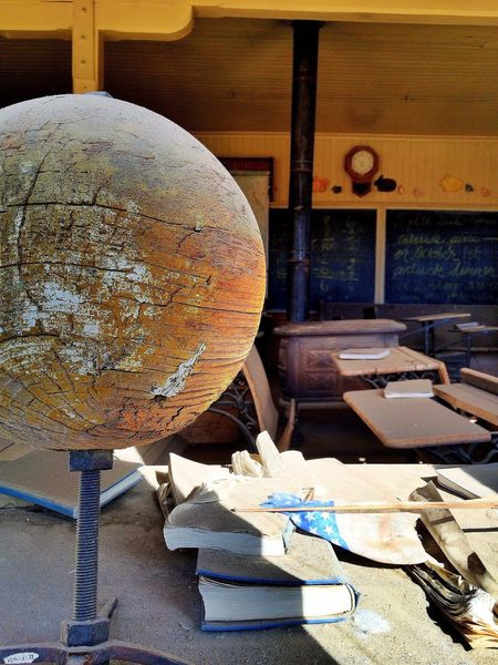Abandoned Schoolhouse Ghost Town Bodie Ghost Town Bodie Class Room