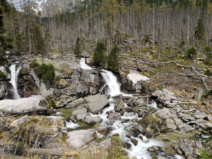 Mountain View Walking Views Into The Woods Photography Slovakia Water Tree Waterfall