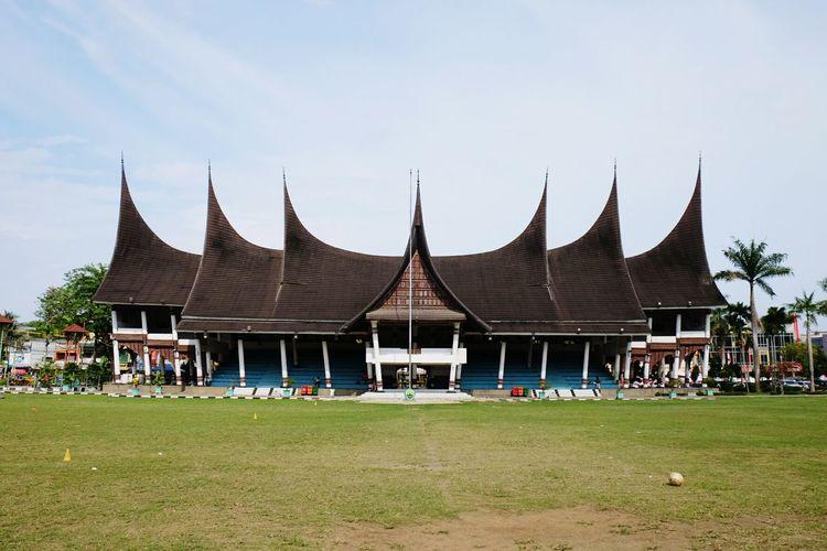 Minang architecture, Padang. Indonesia