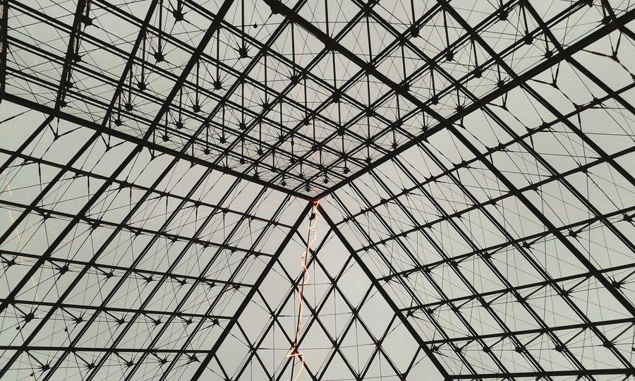 Angular perfection... Musee Du Lourve Pyramide Du Louvre Paris Precision