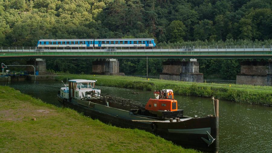 Bridge Brücke Eisenbahnbrüc Frankreich La France Maas Meuse Pont Railway Bridge