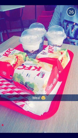Food Foodporn KFC Milkshake Krusher Chicken Burger First Eyeem Photo EyeEm Best Shots