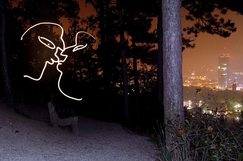 doing some romantic stuff... City Illuminated Lightpaint LightPainters Lightpainting Lightpainting Photography Exposure Aperture Shutterspeed Lightpainting_photography Lightpaintingphotography Lightpaintingphotos Lightpaintingseries Night No People Outdoors Sky Tree
