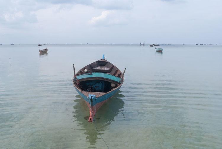 One day in Trikora Beach Beach Beauty In Nature Beauty In Nature Bintan  Bintan Island Bintan Island Bintanisland Boat Day Destination Kepulauanriau Nature Outdoors Scenics Sky Tranquil Scene Tranquility Traveling Trikorabeach Water