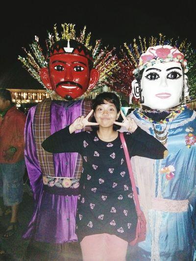 Good Evening Jakarta :D Jakarta Ondel-ondel Museumfatahillah Holiday Iamonvacation