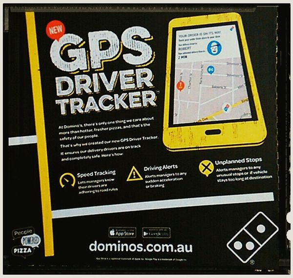 Big Brother Is Watching You SIGNS: Signage Tracking Global Positioning System Domino's  Pizza Boxes GPS People Powered Pizza Domino's Pizza Speed Tracking Driving Alerts Dominos.com Dominos Driver Tracker Signs Signs Everywhere Signs Sign, Sign, Everywhere A Sign Pizzabox SIGNS. Signs, Signs, & More Signs Signstalkers Signs & More Signs SIGN. Signs_collection Sign Advertising Signs Signboard Advertising Signs Pizzaboxes