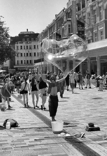 The Bubble Man IPSStreet