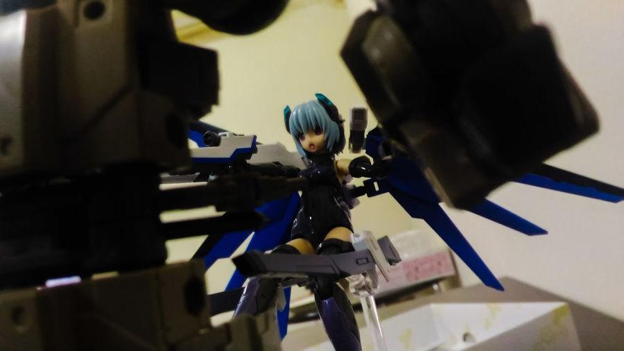 Hresvelgr Mecha Frame Arms Girl Robot Actionfigures