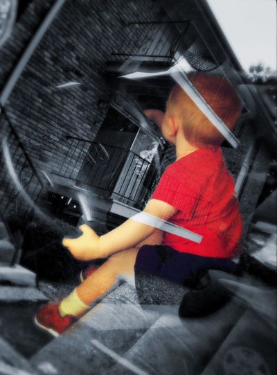 Joy ride Joy Ride Driving Fun Children Reflection Red