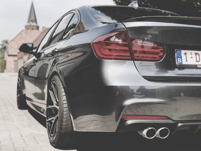Watch out for me, I'm about to glow F80 F30nation F30 Bmw Mode Of Transportation Transportation Land Vehicle Car Motor Vehicle City Day Close-up Luxury
