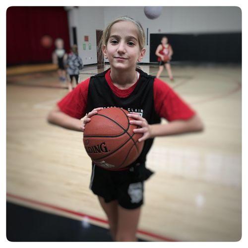 Grace on the court Girls Basketball Uscsd