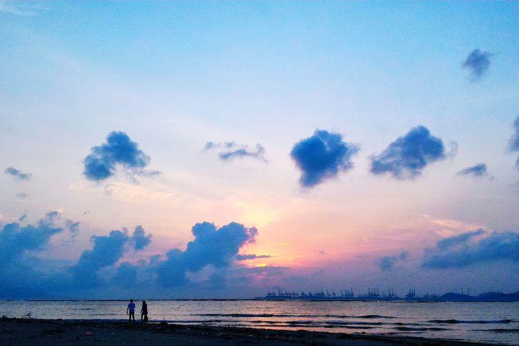 Sunset in Hong Kong HongKong Enjoying Life Check This Out Beautiful City Sunset 白泥 Bluesky Har Pak Nai