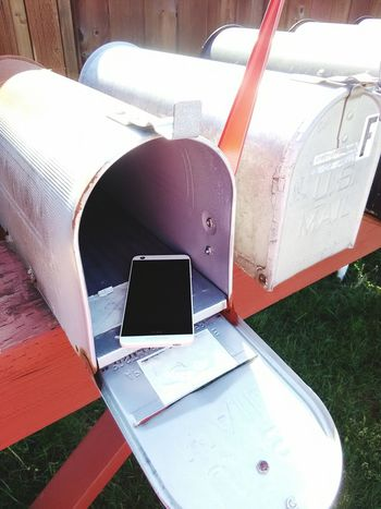 Human Meets Technology Communication Snail Mail Mailboxes Cell Phone  Electronic Communication Where Are The Stamps