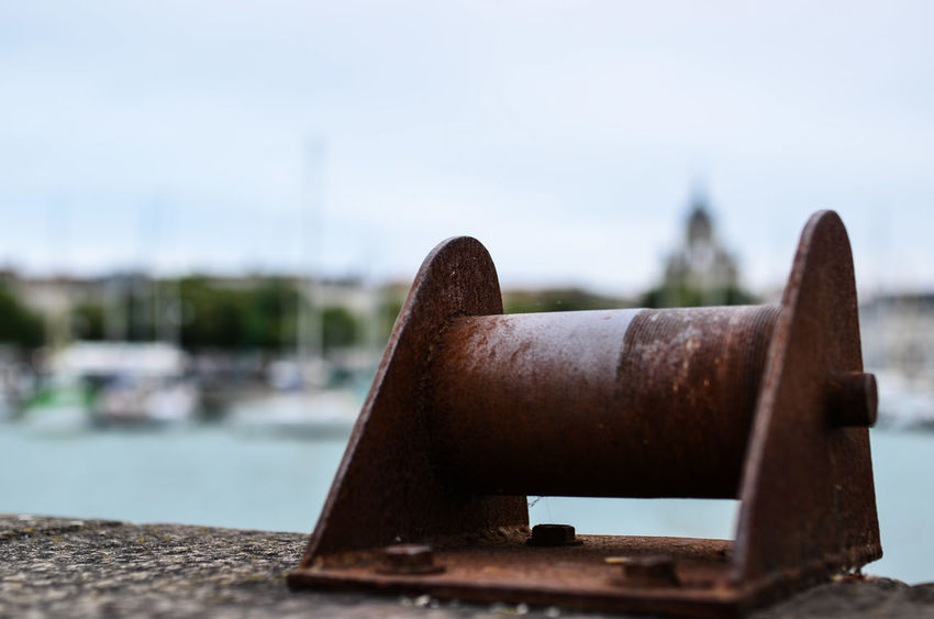 Cannon Canon Clear Sky Close-up Day Focus On Foreground History Hoffi99 Metal No People Outdoors Rusty Sky Weapon