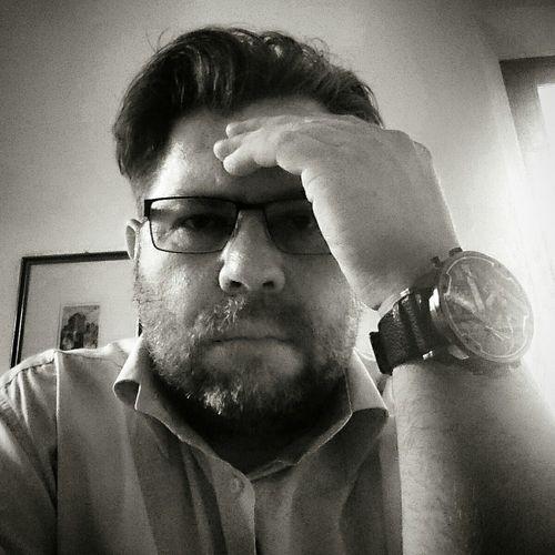 W pracy Self Portrait Selfie Its Me Black & White Oski