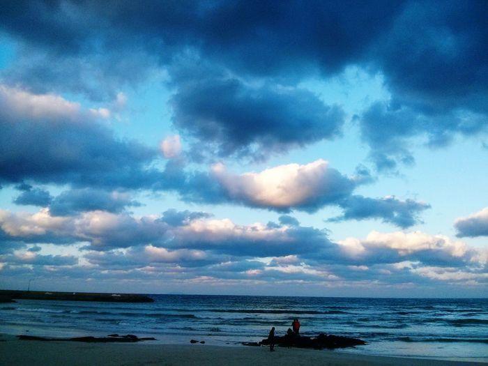 Sky Cloud - Sky Water Sea Beauty In Nature Beach Scenics - Nature Horizon Nature Land Holiday Outdoors