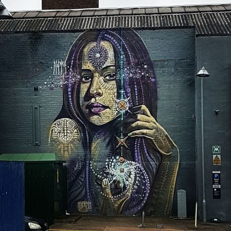 Mysterious Girl In Birmingham Grafiti Art The Street Photographer - 2016 EyeEm Awards My Gallery England🇬🇧 Wall Art Photography Art Gallery On The Street No People