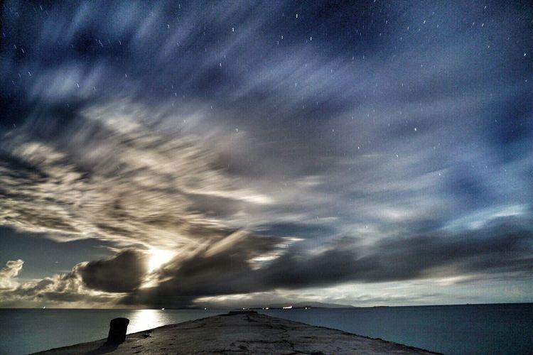 竹富島 西桟橋 Sea Love Sky Travel HDR Japan 月 Nature Photography 月明かり Beautiful Nature 沖縄 八重山 F4F Sony A7sii Okinawa Taketomi Island 海 Hello World Followback Followme Star