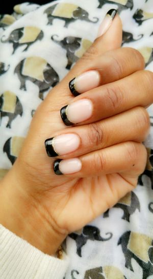 Fresh Mani Hands Nails Done Check This Out