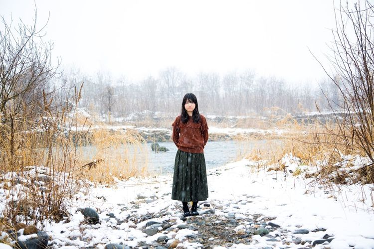Portrait Of A Woman Portrait Of A Friend Portrait Love Beautiful Snapshots Of Life Photography Photo Snap Nagano Japan Canon5Dmk3 Girl Friends Cute Happy Snow Showcase March River Riverside Smile Love ♥ Lovely Lovelovelove kyoko