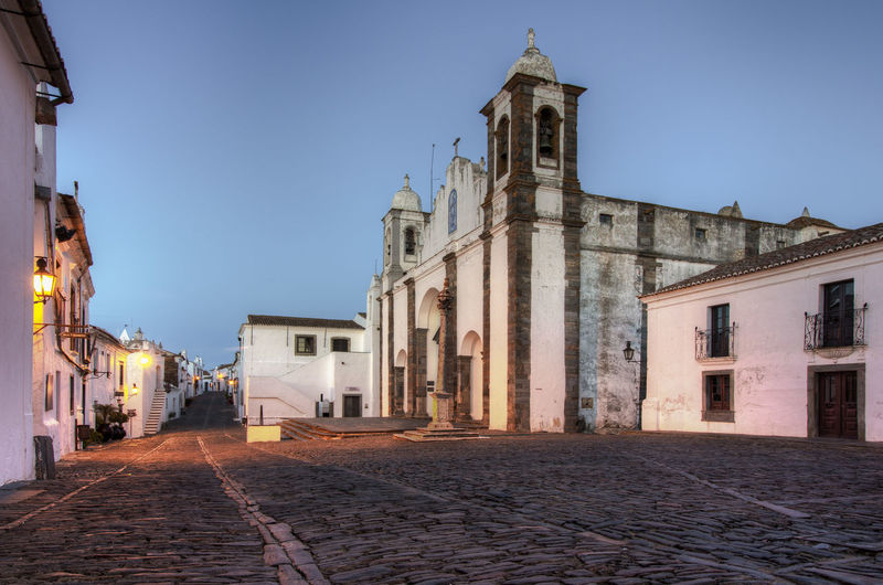 Monsaraz - Portugal Alentejo Ancient Medieval No People Portugal Road Soft Light Street