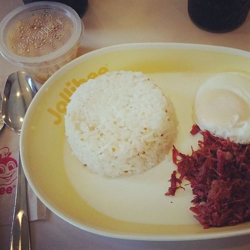 GOOD MORNING. Yummy breakfast cornedbeef. Langhapsarap