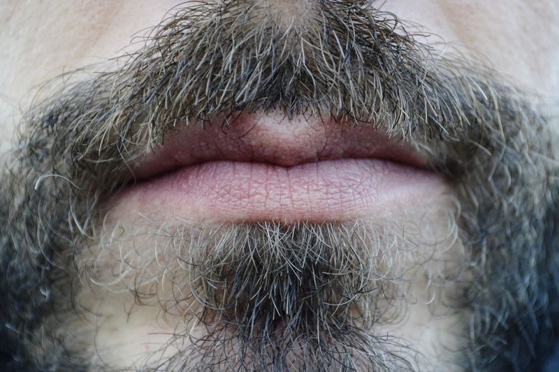 No words Close-up Portrait Man Mouth Human Body Part No Words Skin Lips Week On Eyeem Beard Portrait Photography EyeEm Selects Mustache Human Lips Beauty Human Face This Is My Skin