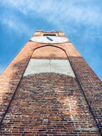 EyeEm Selects Belvedere Tower Clock Orologio Torre Mondovì Sky Architecture Perspective No People Outdoors EyeEmBestPics EyeEm Masterclass EyeEm Gallery Italia Art Is Everywhere Art