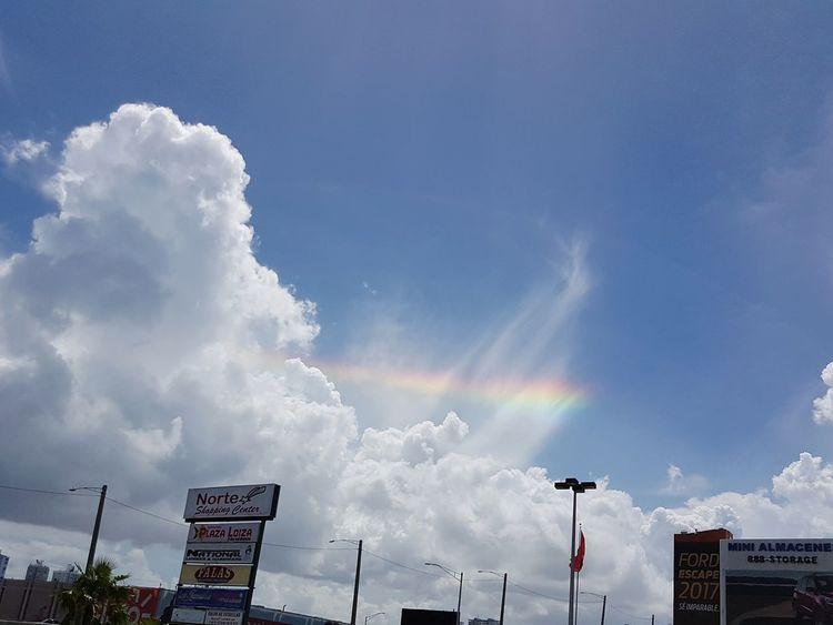 San Juan, Puerto Rico. Two days after hurricane Irma. Sky Beauty In Nature Nature Rainbow🌈 Rainbow Rainbow Colors