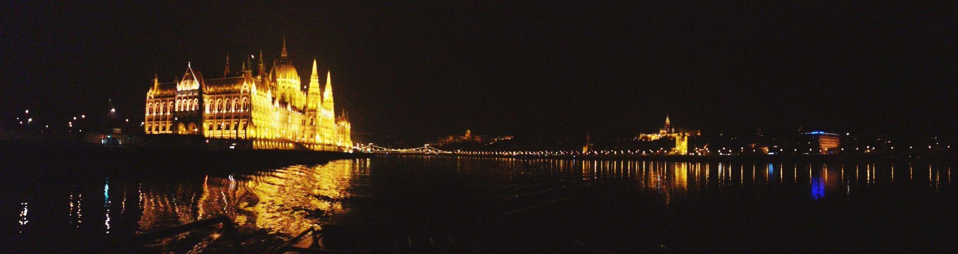 Budapest, Hungary Highschooltrip Danubio Night Lights Nightphotography