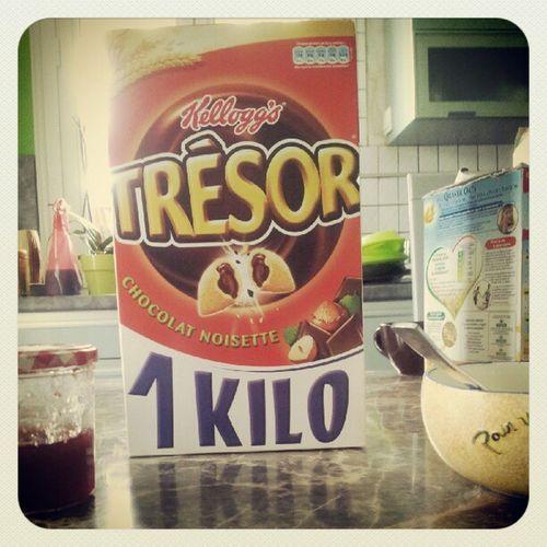 Ca c du paquet de céréales! :p Tresor Kellogg 's Morning
