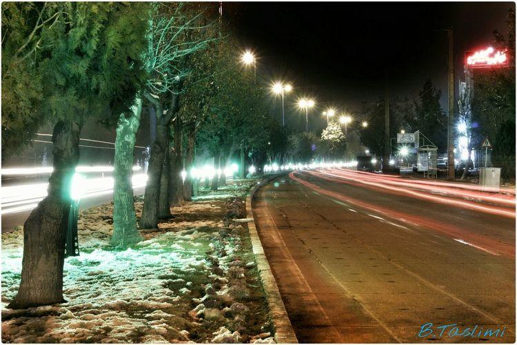 PHoTo:B.Taslimi آذربایجان شرقی ایران شهر بناب تسلیمی کانن700دی کانن شب بلوار خیابان Taslimi Bonab City Canon Canon700D Lenz 18-55 Iran Iran♥