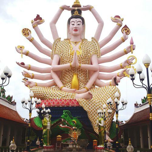 Koh Samui Thailand Temple